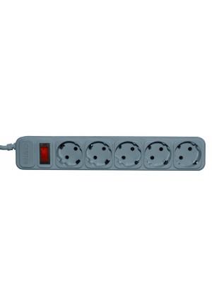Сетевой фильтр Centek СТ-8900-5-4,5 Gray